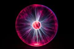 Violette plasmalamp stock fotografie