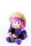 Violette Puppe Lizenzfreie Stockbilder