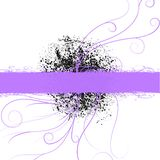 Violette purpere copyspaceachtergrond Royalty-vrije Stock Foto's