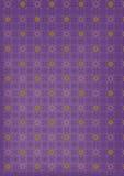 Violette sterrige abstracte achtergrond Royalty-vrije Stock Fotografie