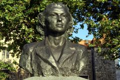 Violette Szabo monument, Westminster, London, England Stock Photography