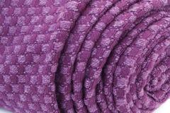 Violette textiel royalty-vrije stock foto