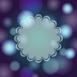 Violetter abstrakter bokeh Hintergrund Stockfotografie