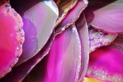 Violetter Achathintergrund Lizenzfreie Stockfotografie
