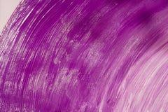 Violetter Acrylhintergrund Stockfotos