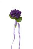 Violetter Blumenstrauß stockbilder