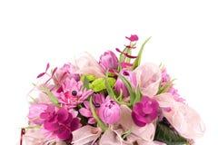 Violetter Blumenstrauß Lizenzfreie Stockfotos