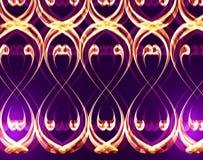 Violetter Dekor stock abbildung