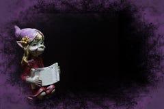 Violetter Elf lizenzfreie stockfotos