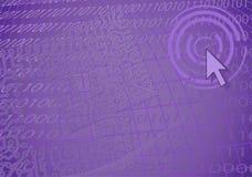 Violetter fantastischer Hintergrund Lizenzfreies Stockbild