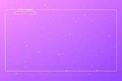Violetter Fest Lizenzfreies Stockbild