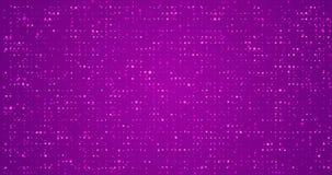 Violetter flackernder geschlungener festlicher Hintergrund lizenzfreie abbildung