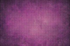 Violetter geometrischer Hintergrund der Weinlese mit Kreisen Stockfotografie