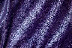 Violetter lederner Musterhintergrund Stockfoto