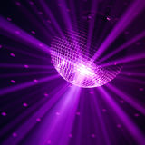 Violetter Partyhintergrund Lizenzfreie Stockbilder