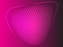 Violetter rosa abstrakter Halbtonhintergrund vektor abbildung