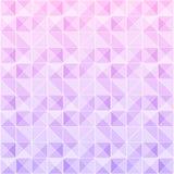 Violetter und rosa Dreieckmusterhintergrund lizenzfreie abbildung