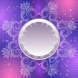 Violetter Weinlesevektor-Zusammenfassungshintergrund Lizenzfreie Abbildung