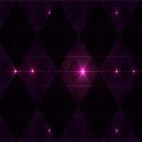 Violetter Winkweinlese-Musterhintergrund Stockbild