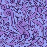 Violettes dekoratives Muster Lizenzfreie Stockfotos