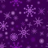 Violettes nahtloses Muster Stockfotos