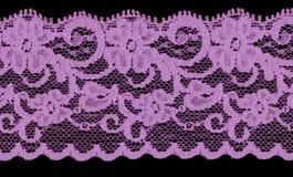 Violettes Spitzeband Lizenzfreie Stockfotos