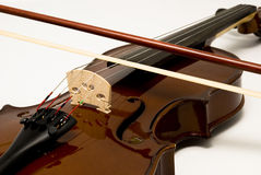 Violin. A violin for musical industry and orchestral use Royalty Free Stock Photos
