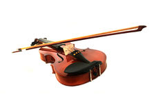 Violin. A Violin on white background Royalty Free Stock Photos