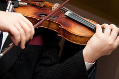 The violin Royalty Free Stock Photos