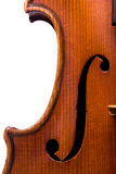 Violin. A close up view of a violin Stock Photos