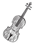 Violin Vector Illustration
