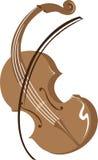 Violin. Vector illustration of a violin Stock Images