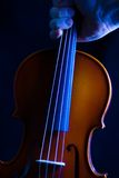 The Violin 2. A hand take a violin away royalty free stock photography