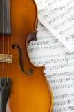 Violin. On white background. Studio shot Stock Photo