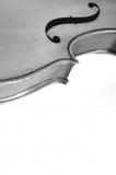 Violin. Retro violin design on black and white Royalty Free Stock Photography