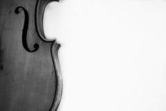 Violin. Retro violin design on black and white Stock Photo