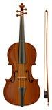 Violin1 Fotografia Stock Libera da Diritti