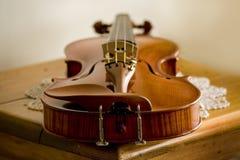 Violin. A violin in studio Royalty Free Stock Image