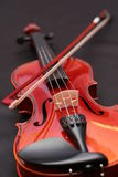 Violin. Instrument, instruments, bow, string Stock Photos