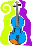 Violin. A vector, illustration icon design for a violin Royalty Free Stock Photography