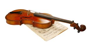 The violin Royalty Free Stock Images