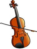 Violin. A digital illustration of a violin Stock Images