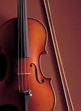 Violin. Under the studio lights Royalty Free Stock Image