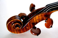 Violin. Nice classic shiny red violin with a warm sound Royalty Free Stock Photos