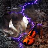 Violin Abstract Stock Photography