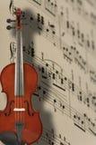 Violin And Music Notes Royalty Free Stock Photos
