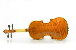 Violin back Royalty Free Stock Photography