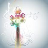 Violin backgorund Stock Photography