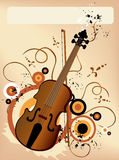 Violin Background Royalty Free Stock Image