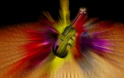 Violin background Royalty Free Stock Photography